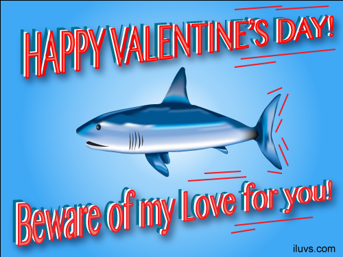 beware love shark Beware My Love For you ECard