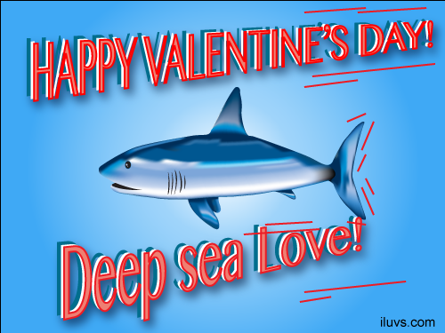 deap sea love I Luvs Ecards