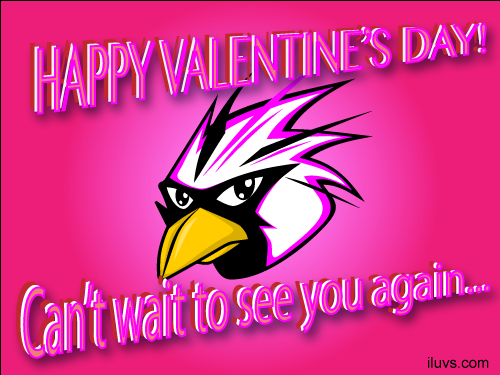 love bird cant wait 0 Valentine ECard Cant Wait to See You Again