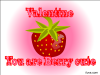 thumbs berry cute Free Valentine Ecards