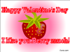 thumbs berry much valentine Free Valentine Ecards