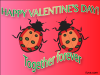 thumbs bug together forever Free Valentine Ecards
