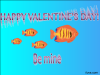 thumbs fish valentine  Free Valentine Ecards