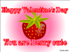 thumbs happyberry valentine Free Valentine Ecards