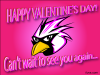 thumbs love bird cant wait 0 Free Valentine Ecards