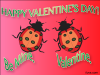 thumbs love bug Free Valentine Ecards