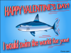 thumbs swim the world Free Valentine Ecards