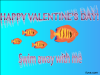 thumbs swim with me valentine Free Valentine Ecards