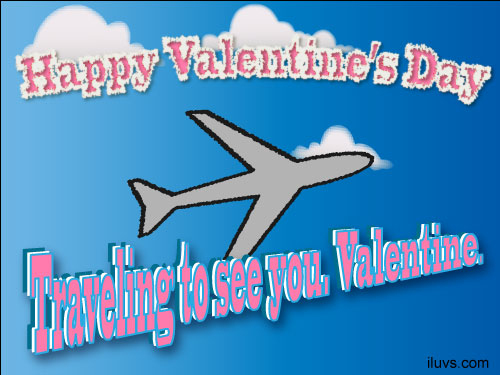 traveling valentine Traveling to See You Valentine Ecard